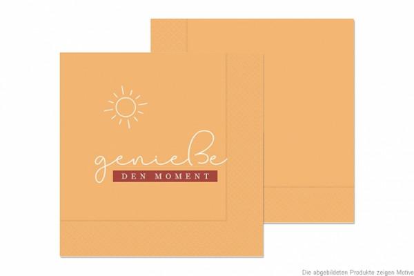 130354 Serviette genieße den Moment