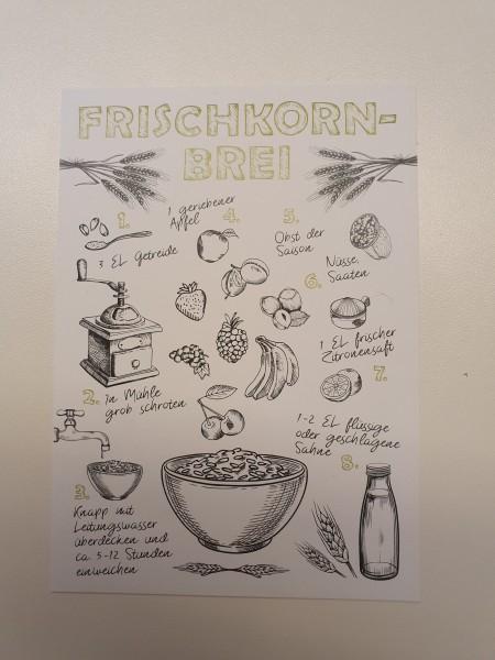 Postkarte Frischkornbrei2