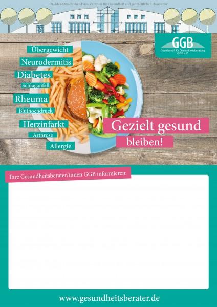 Plakat Gezielt gesund bleiben (2)